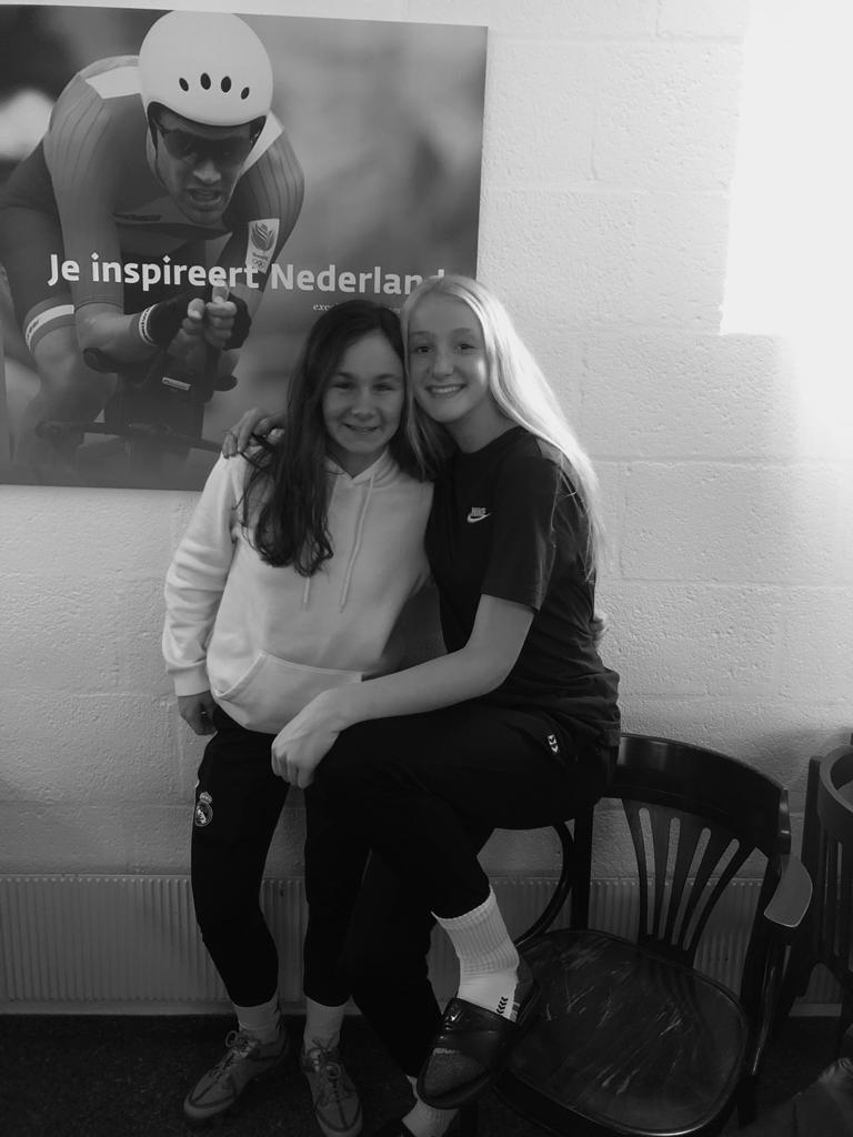 Lynn en Ires geselecteerd voor Oranje U-16