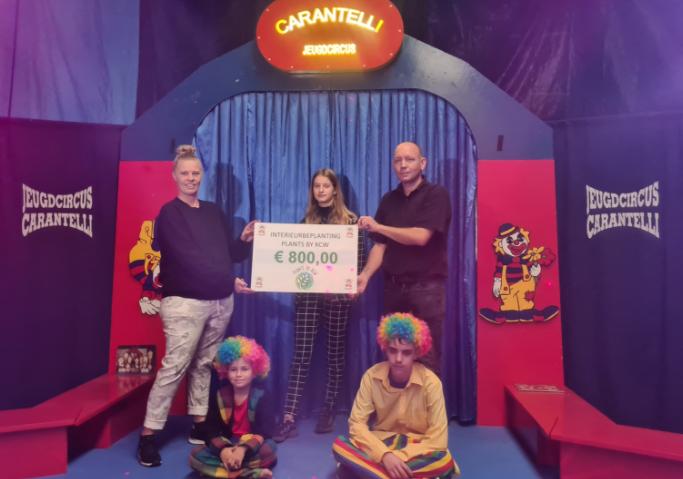 Ondernemer Kaylee redt Circus Carantelli voor een jaar