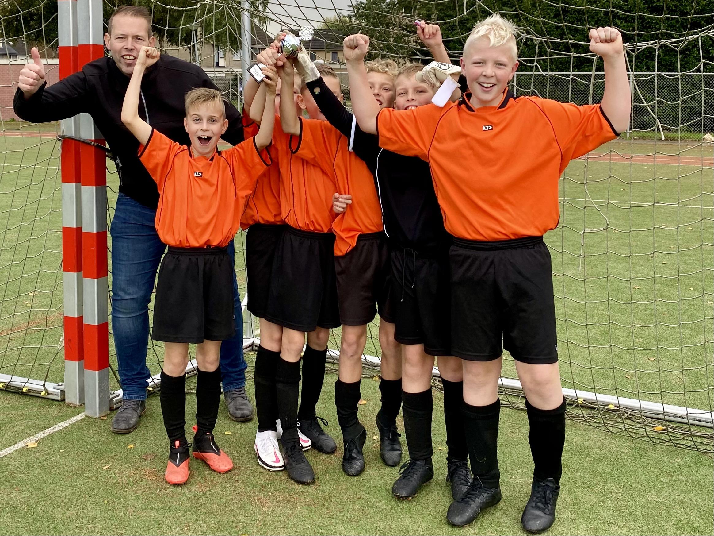 Jongens voetbaltoernooi basisscholen 2020