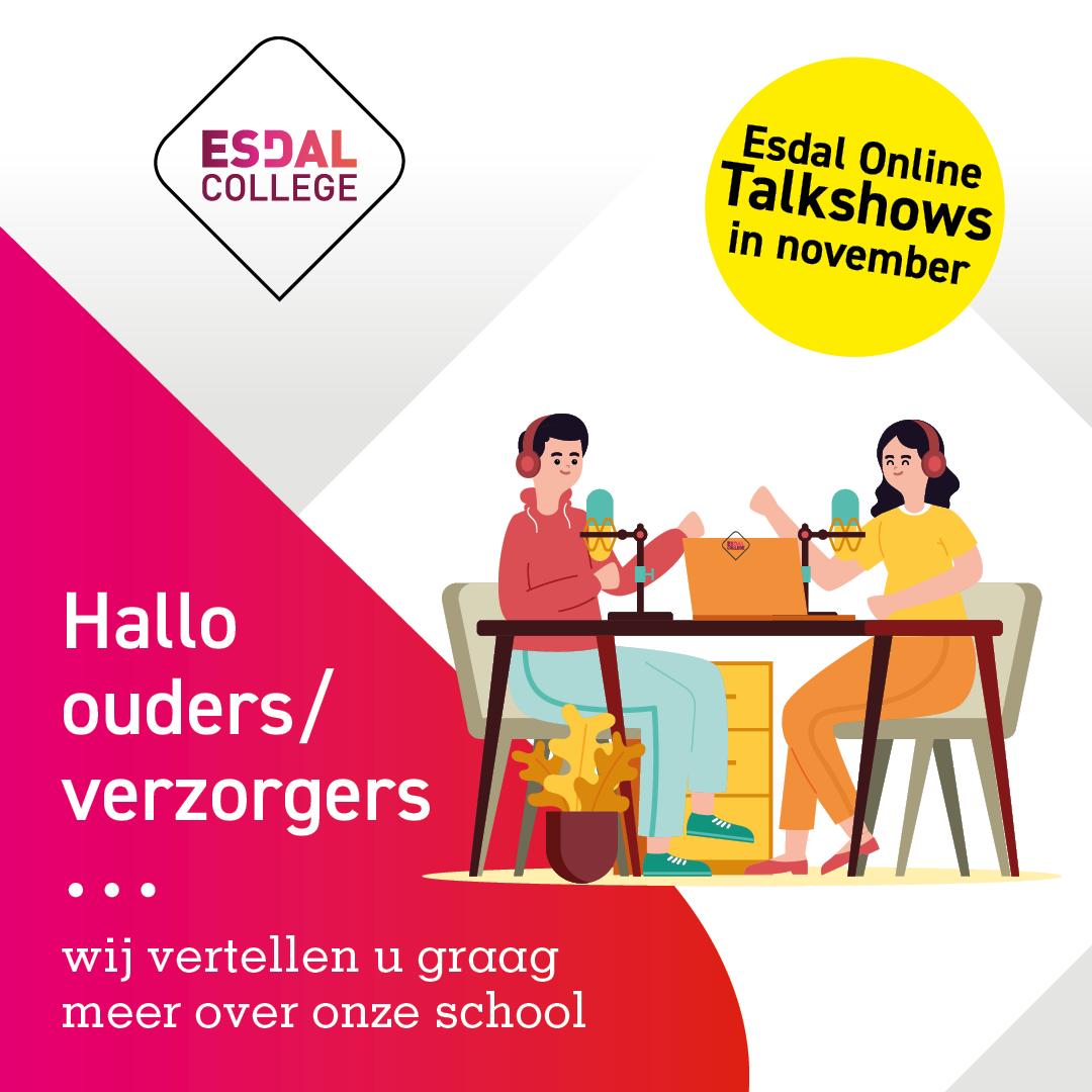Esdal Online Talkshow locatie Borger