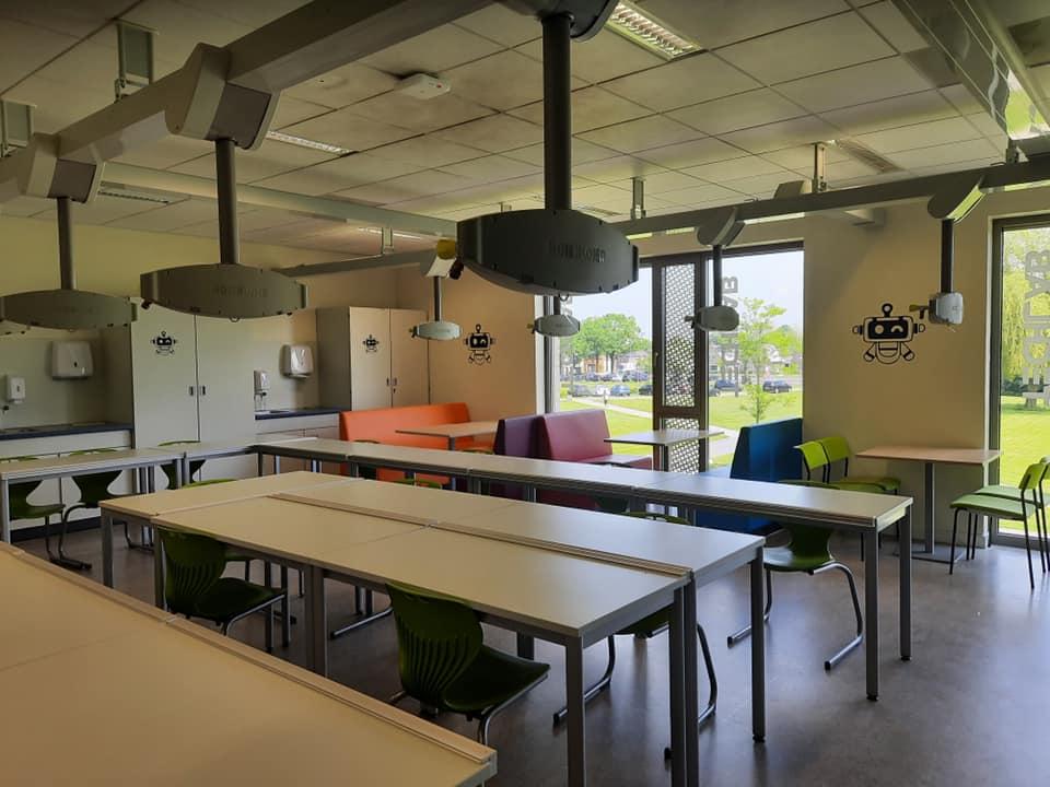 Nieuw techlab op locatie Klazienaveen