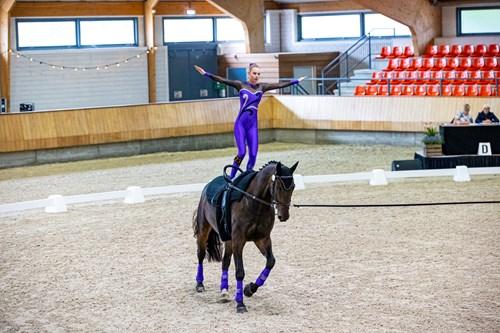 Anica de Boer Nederlands kampioen voltige